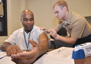 Lovell FHCC offers flu vaccinations to Veterans, millitary and their families
