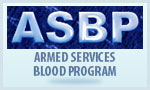 Armed Services Blood Program.